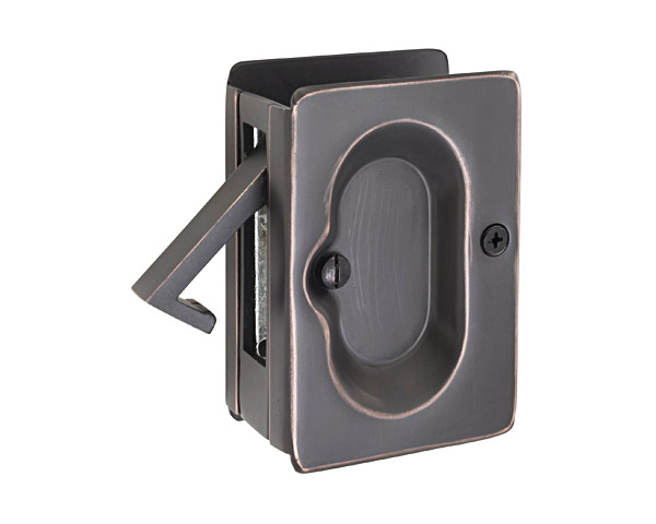 Charmant Emtek Pocket Door Passage In Oil Rubbed Bronze 2101US10B