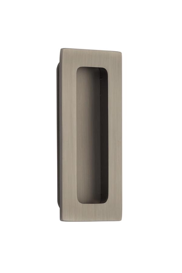 Emtek 220304 Modern Rectangular Flush Pull 4 Quot