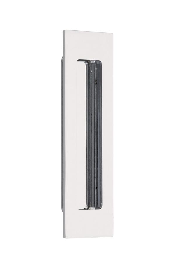 Emtek 220306 Modern Rectangular Flush Pull 6 Quot