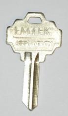 Emtek Ms4 Keyblkc Key Blank