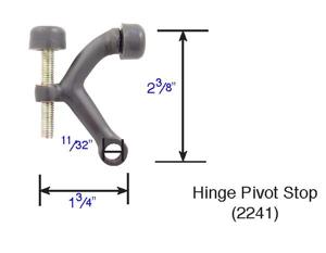 Emtek 2241 Hinge Pivot Door Stop