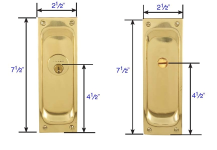 Beau Emtek Pocket Door Classic Mortise Lock Specs
