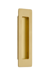 Emtek 220306 Modern Rectangular Flush Pull 6