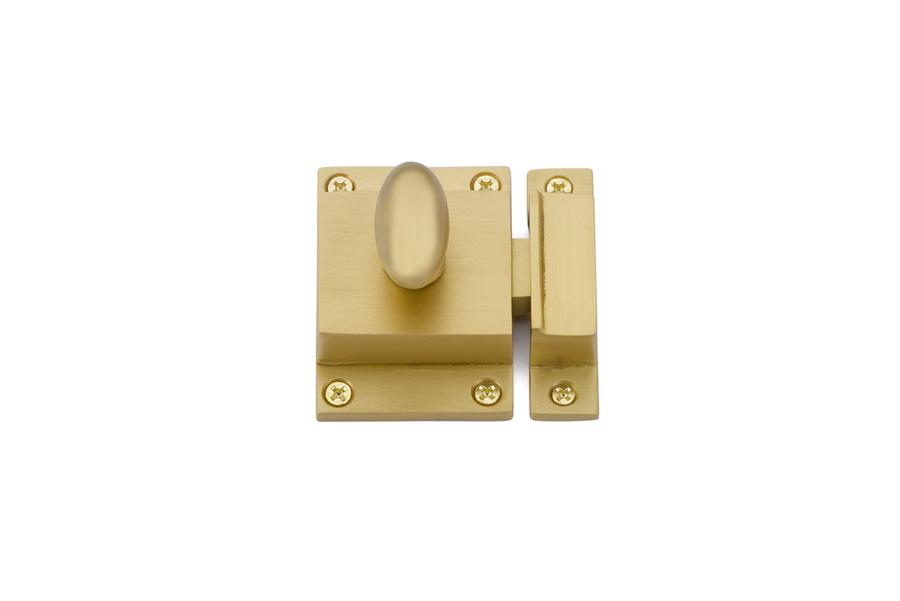 Emtek Cabinet Latch In Satin Brass 2270US4
