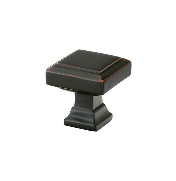 Emtek Geometric Square Cabinet Knob 1 5 8 Quot 86296
