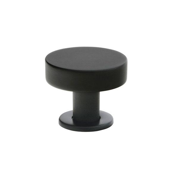 black cabinet knobs. Emtek Cadet Cabinet Knob 1\ Black Knobs E
