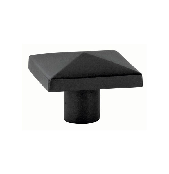 Emtek square cabinet knob 1 5 8 86146 for Square kitchen cabinet knobs
