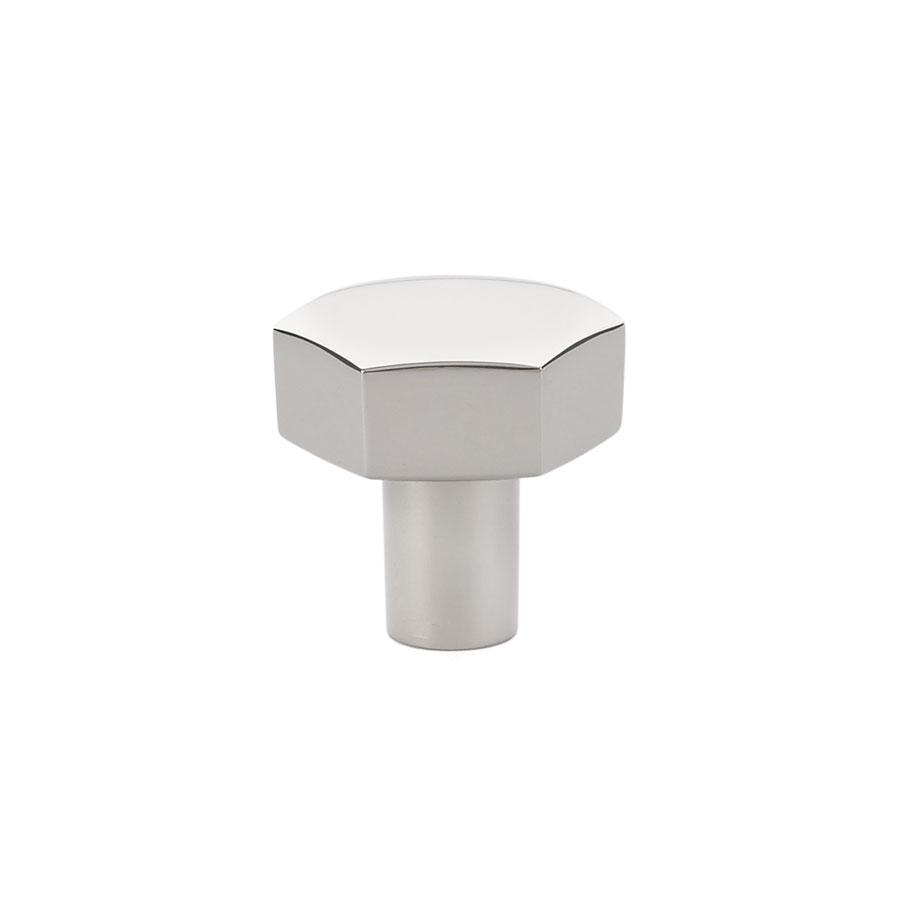 Emtek mod hex cabinet knob 1 12 86458 emtek mod hex cabinet knob 1 12 in polished chrome rubansaba