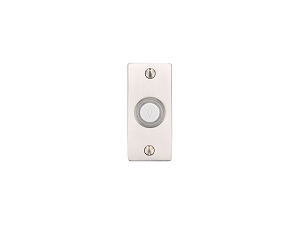 Emtek 2464 Small Rectangular Rosette Doorbell