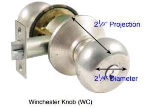 Emtek Winchester Key In Knob Lockset