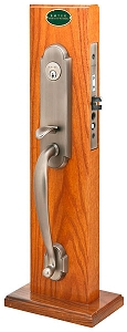 Emtek 3343 Charleston Mortise Handleset