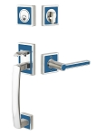 Emtek L4820 Martinique Tubular Handleset