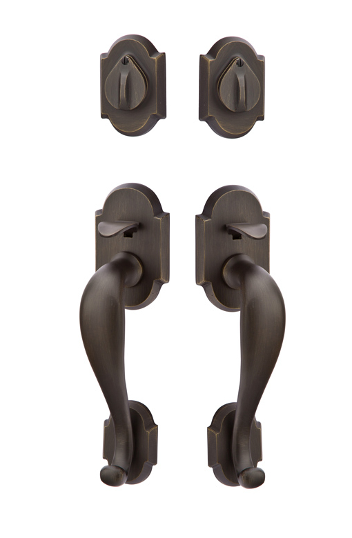 Emtek Grip By Grip Denver Tubular Handleset 453212