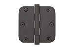 Emtek 3.5 X 3.5 - 5/8 Radius Residential Duty Hinges-Pair