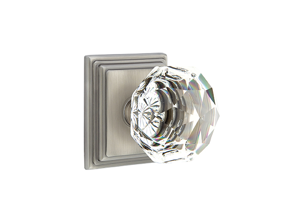 Emtek Diamond Crystal Knob