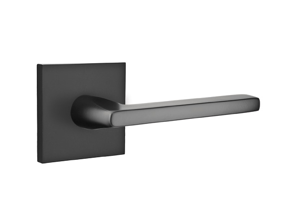 Square Matte Black Cabinet Hardware