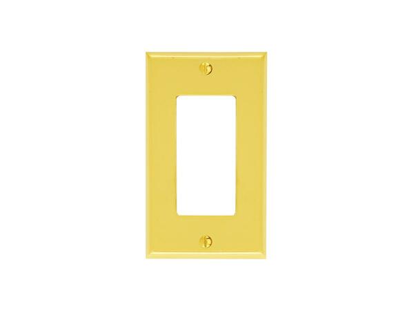 Emtek 29121 Colonial Single Rocker Switch Plate