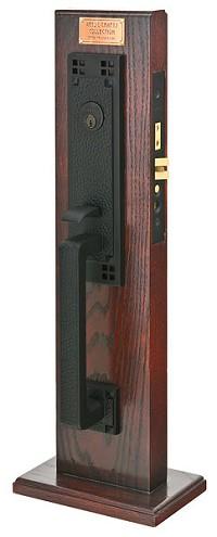 Emtek Craftsman Mortise Handleset 3308