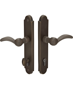 Emtek Sandcast Bronze Multi Point Lock 5