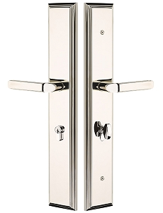 Emtek 2LM1 Melrose Large Multi Point Lock Euro Cylinder Below Handle