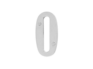 Emtek 2820 Brass House Number 0 - 5 1/2