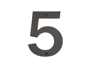 Emtek 2815 Bronze House Number 5 - 4