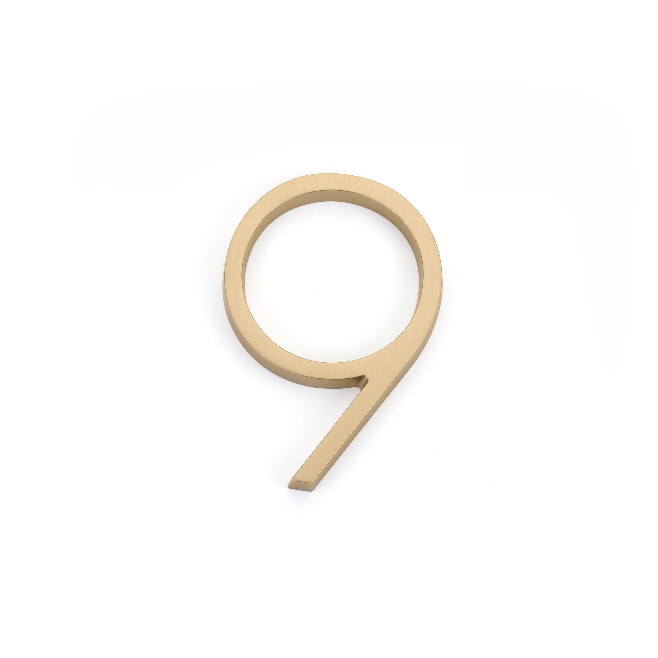 Emtek 2839 Modern House Number 9 - 7