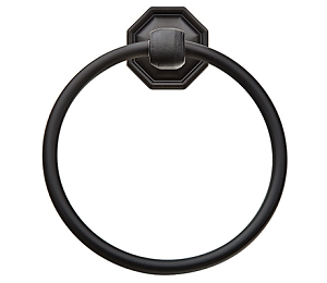 Emtek 2701 Lost Wax Tuscany Towel Ring