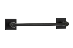 Emtek 23021 Sandcast Bronze Towel Bar 18
