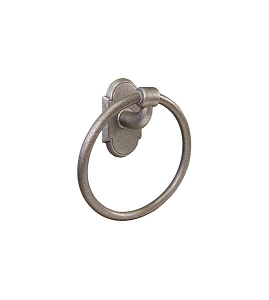 Emtek 2501 Wrought Steel Towel Ring