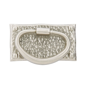 Emtek 86041 Hammered Oval Pull
