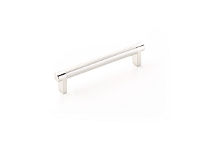 Emtek 84054 Rectangular Stem Knurled Bar Cabinet Pull 5