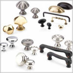 Emtek Traditional Brass Cabinet Hardware