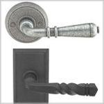 Emtek Wrought Steel Door Levers