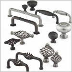 Emtek Wrought Steel Cabinet Hardware