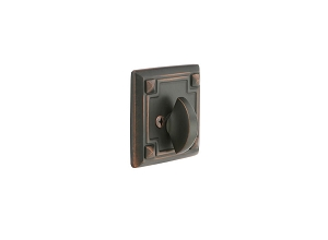 Emtek 8554 Arts & Crafts Single Sided Deadbolt