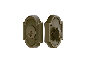 Emtek 8472 Tuscany Bronze #11 Single Cylinder Deadbolt