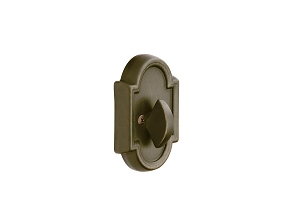 Emtek 8572 Tuscany Bronze #11 Single Sided Deadbolt
