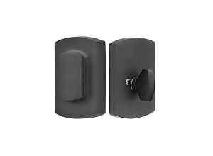 Emtek 8476 Sandcast Bronze Ridgemont Single Cylinder Deadbolt