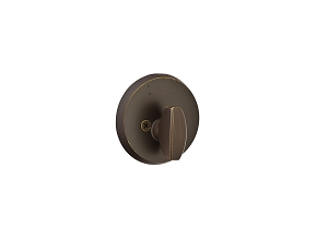 Emtek 8550SC Sandcast Bronze Regular #2 Single Sided Deadbolt