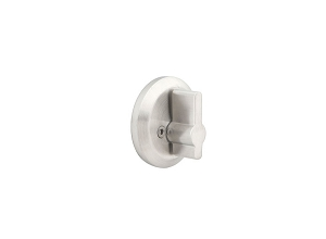 Emtek S52005 Stainless Steel Round Single Sided Deadbolt