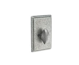 Emtek 8553 Wrought Steel # 3 Single Sided Deadbolt