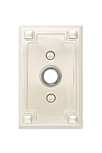 Emtek 2451 Arts & Crafts Rosette Doorbell