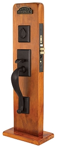Emtek 3324 Rectangular Sectional Mortise Handleset