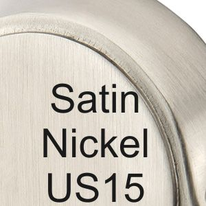Satin Nickel US15