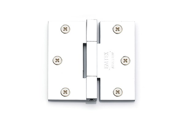 Emtek 96513 Solid Brass 3.5 X 3.5 Square Barrel Heavy Duty Hinges-Pair