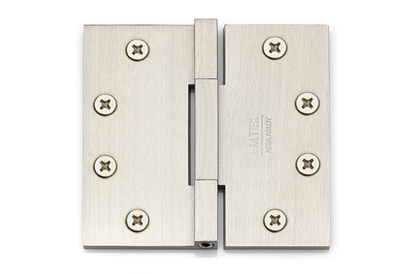 Emtek 96515 Solid Brass 4.5 X 4.5 Square Barrel Heavy Duty Hinges-Pair