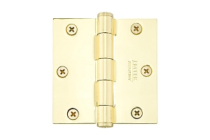 Emtek 91013 3.5 X 3.5 Square Residential Duty Hinges-Pair