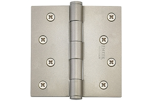 Emtek 91014 4 X 4 Square Residential Duty Hinges-Pair