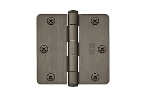 Emtek 92023 3.5 X 3.5 - 1/4 Radius Heavy Duty Hinges-Pair